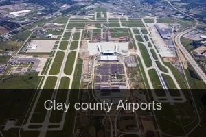Clay county Airports