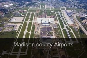 Madison county Airports